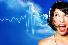 binaural woman